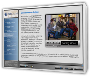 Converting your old DVDs and VHS videotapes to an e-Learning delivery format offers significant benefits to training organizations: